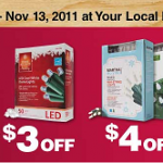 Recycle Old Christmas Lights at Home Depot Nov. 3-11 #ctww