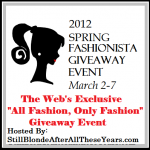 Spring Fashionista Giveaways ~ March 2-7 #FashionistaEVENTS