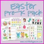 Free Printable Easter Pre-K Pack ~ So Cute!