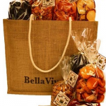 Bella Viva Orchards Gourmet Dried Fruit & Nuts #Eco Tote ($90 Value)