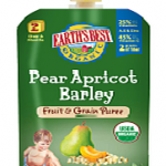 NEW! Earth's Best Organic Fruit & Grain Puree Pouches