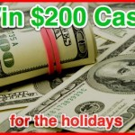 $200 Cash For the Holidays Sweeps at Tip Hero (US/Can) {Giveaway Closed}