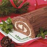 {Holiday Recipe} Chocolate Yule Log
