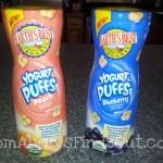 NEW From Earth's Best Organic: Yogurt Puffs