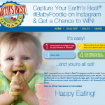 Is Your Baby a Baby Foodie? Enter the Earth's Best #BabyFoodie Instagram Contest!