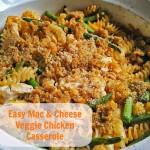 Easy Mac & Cheese Casserole Recipe