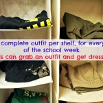 get dressed kids closet organizer
