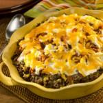 Mexican Beef & Corn Casserole Recipe