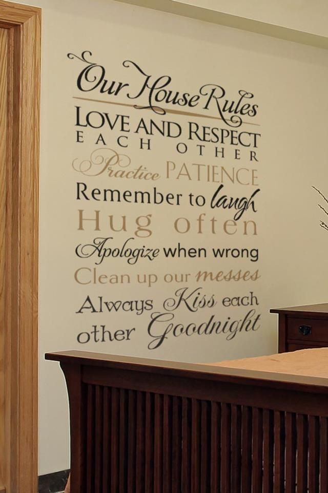 WiseDecor  Decorate with Wall Decals Letters Quotes