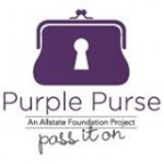 October is Domestic Violence Awareness Month. Pass It On. #PurplePurse