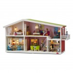 Modern Doll Houses with Lights by Lundby