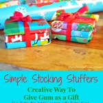 Creative Way To Give Gum as Stocking Stuffers & Neighbor Gifts #GiveExtraGum