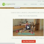Try MyYogaWorks Online Yoga Classes For Free! #MC