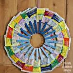 Organize and Display Your Tea Stash with a Tea Wreath Craft