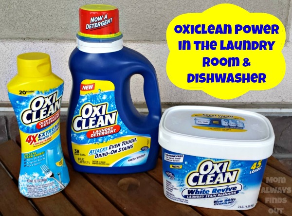 How Oxiclean Stain Remover Saves Our Laundry