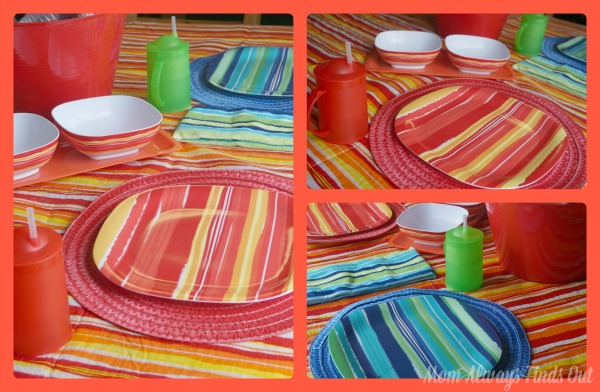 dollar tree summer tableware
