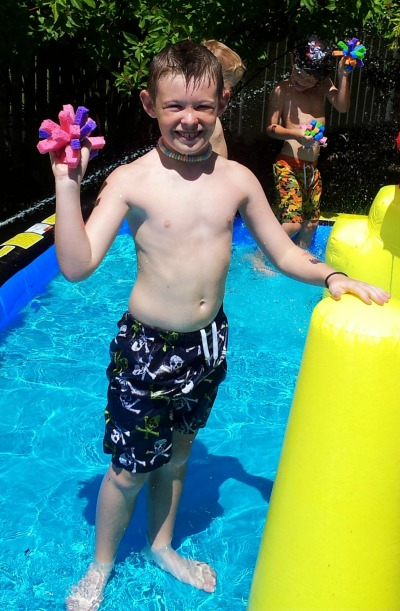 DIY Water Toys: How To Make a Sponge Ball (Summer Craft ...