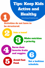 6 ways to keep kids active and healthy when life gets busy. #HorizonB2S