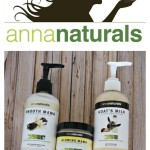 Anna Naturals Bath and Body Products
