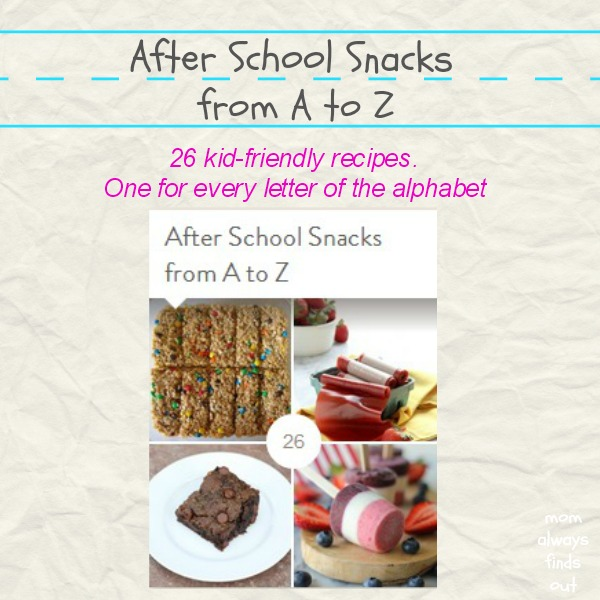 after school snacks a to z
