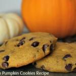 thanksgiving pumpkin cookies recipe