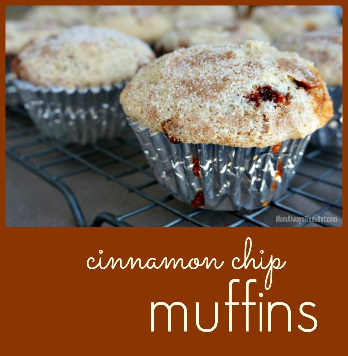 Cinnamon Chip Muffin
