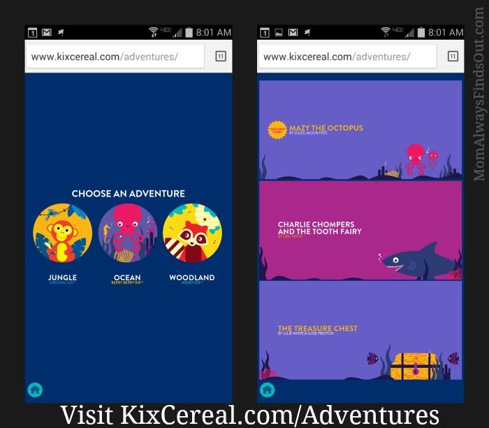 Kix Cereal Adventures stories
