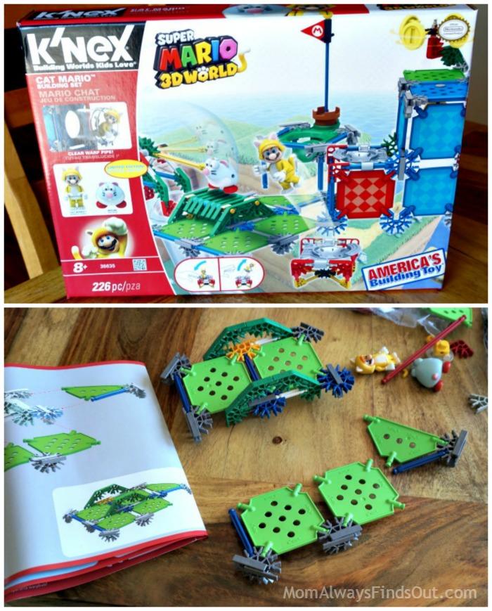 Knex Cat Mario Building Set