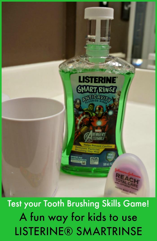 Listerine SmartRinse for Kids #BeSweetSmart