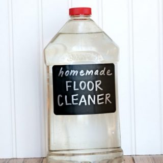 DIY Mopping Solution - Homemade Floor Cleaner Recipe