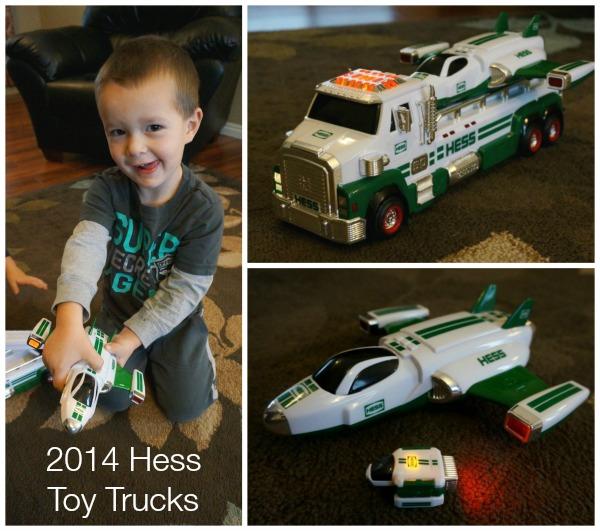 Hess Toy Trucks 2014