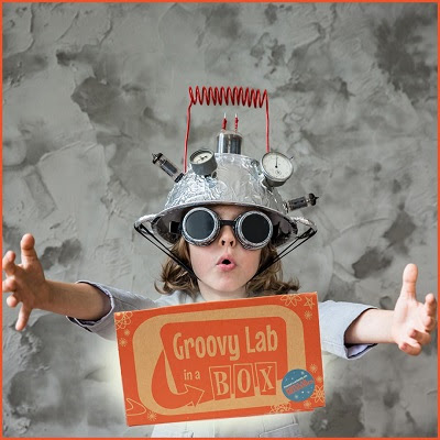 What's More Groovier Than Getting 4 Free Boxes? In case you have not heard of Groovy Lab in a Box, it's the educational subscription kids love that teaches STEMists (your children!) all about science, technology, engineering and math (STEM). Each month, they send out a themed box filled with investigations that are fun and hands on. The investigations culminate into an Engineering Design Challenge, where your STEMists must apply what they've learned from the investigations (and use their critical thinking skills) to complete the challenge. The boxes contain everything you need to complete all of the activities, including a groovy retro-themed lab notebook. The box activities are supplemented with their Beyond...in a Box web portal where your children will find videos, interactives, a STEM library and much, much more. Head over to Groovy's Shop to learn more about this great service and start your 12-month subscription today - that's 4 FREE BOXES with FREE SHIPPING! Totally groovy, right? * Emphasis on STEM (science, technology, engineering and math) * Extended learning through their exclusive web portal, Beyond...in a Box * For kids ages 8 and up