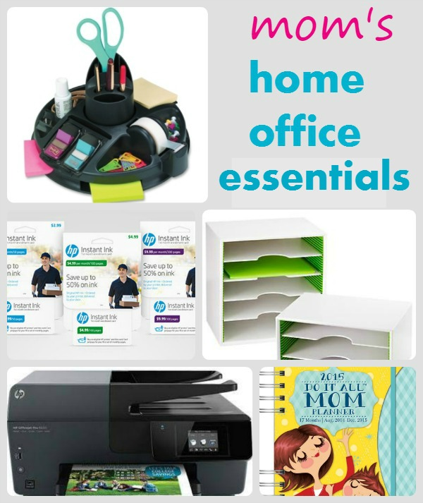 Home Office Essentials To Organize, Save Time And Money