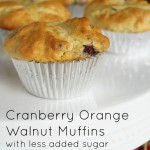 Cranberry Orange Muffins Splenda Recipe