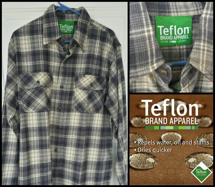 Teflon Brawny Plaid Shirt