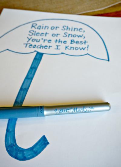 teacher gift poem