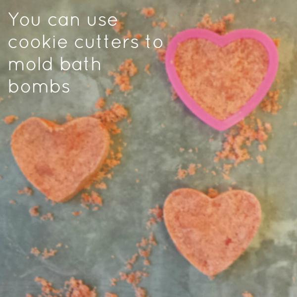 bath bomb cookie cutters
