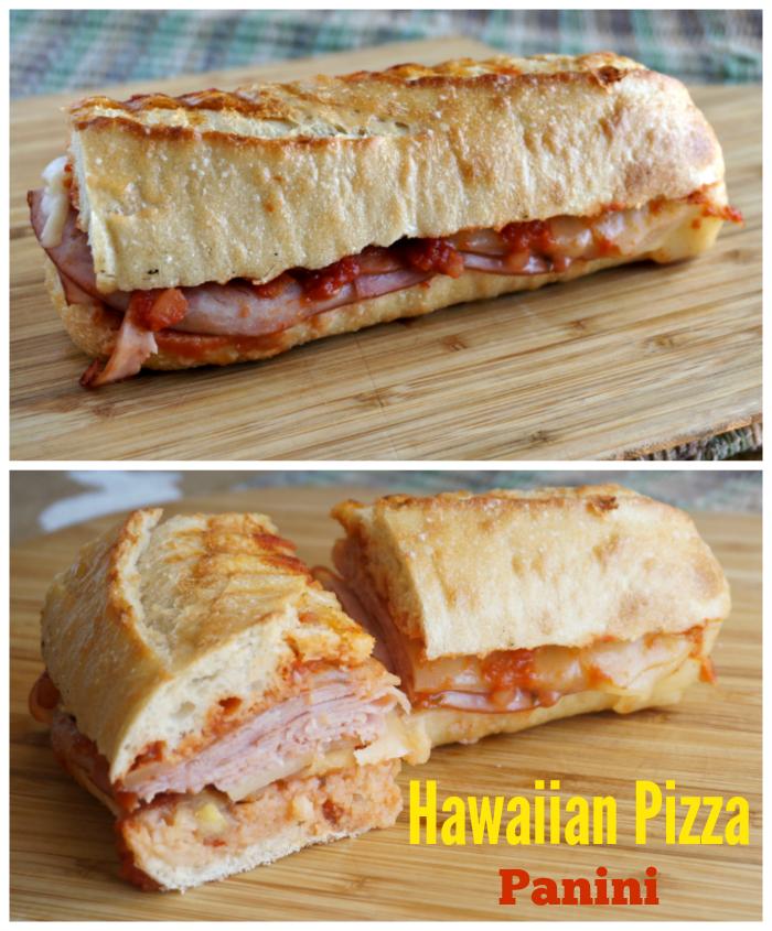 Hawaiian Pizza Panini Recipe