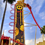 Universal Hollywood Rockit Roller Coaster