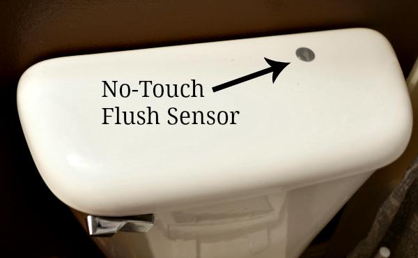 touchless toilet