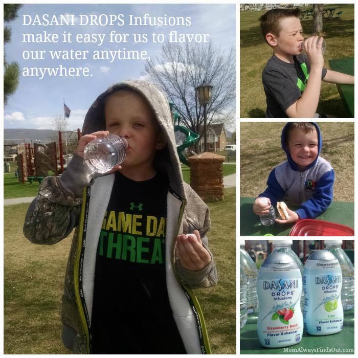 Dasani Drops Water Flavor