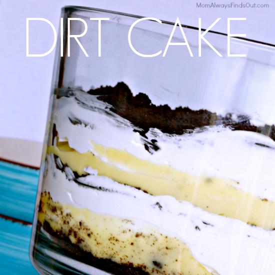 Dirt Cake Recipe