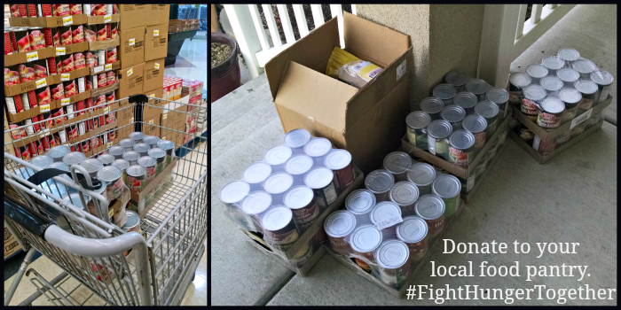 Donate to food pantry #fighthungertogether