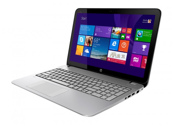 hp envy laptop side