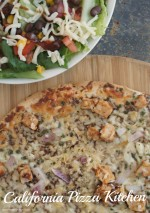 How to Make Pizza Part of Your Balanced Diet + BBQ Chopped Salad Recipe