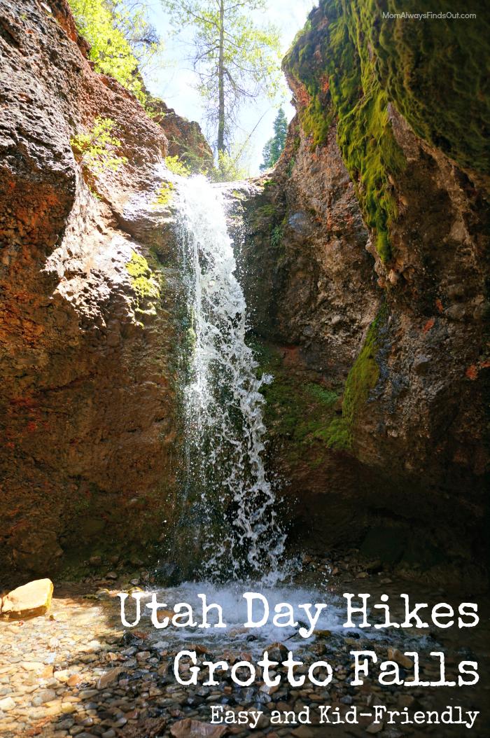 grotto falls utah hike