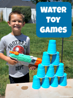 Beat the Heat With Water Gun Games