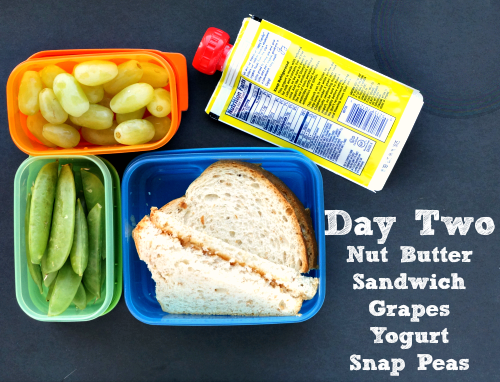 lunch ideas day 2