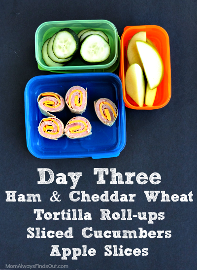lunch ideas day 3