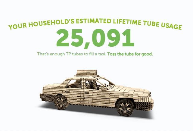 toilet paper tubes usage